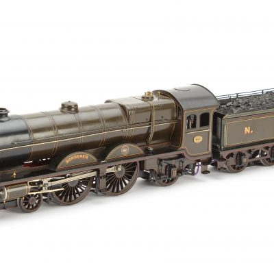 James Beeson 0 Gauge – 4-4-2 NBR Locomotive & Tender 'Borderer' No. 881, 3-rail electric